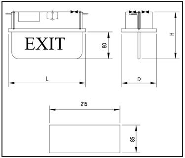 EXIT-LIGHTS-EL01-NF-technical